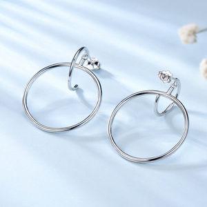 Silver Earrings For Women Silver Hoop Earrings